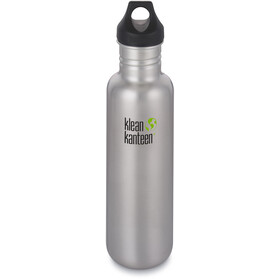 Klean Kanteen Classic Flasche Loop Cap 800ml 2019 brushed stainless